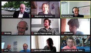 Teilnehmer*innen des Online-Kongresses